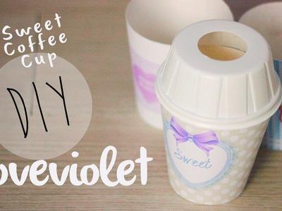 DIY: Sweet Coffee Cup personalizzati in stile Starbucks | Loveviolet ♥
