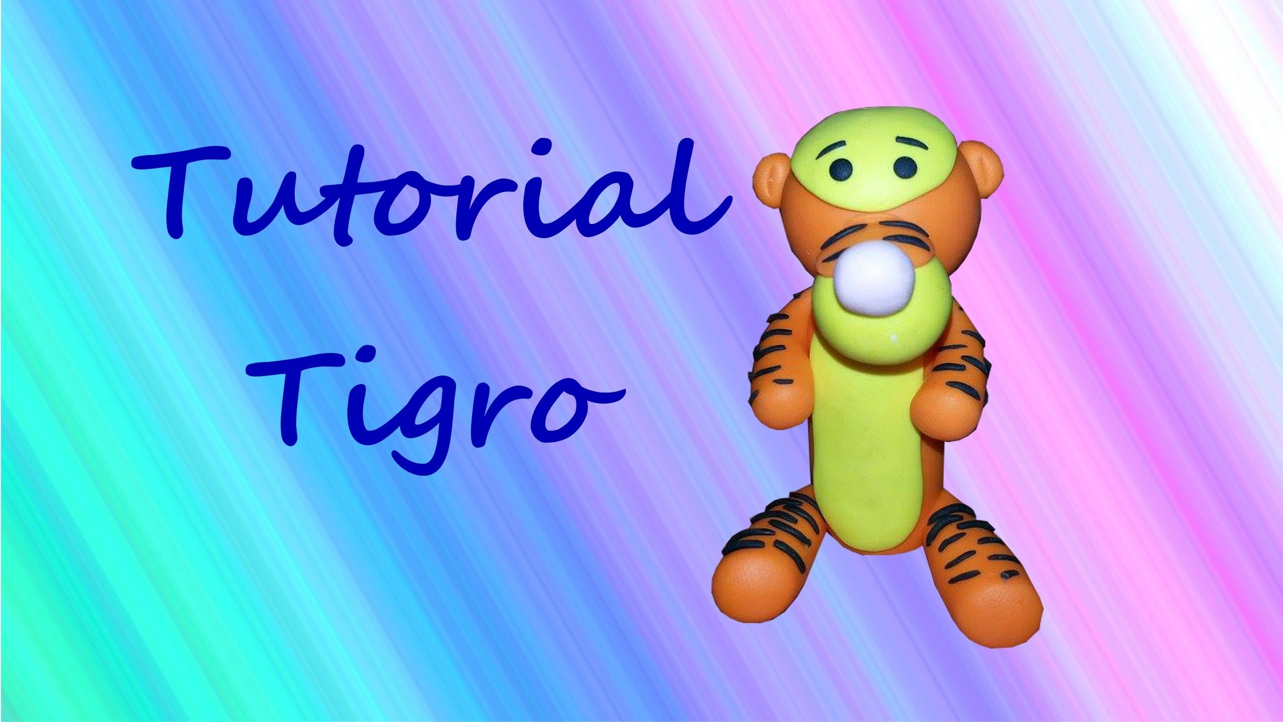 ✿ Tigro - Polymer Clay Tutorial ✿