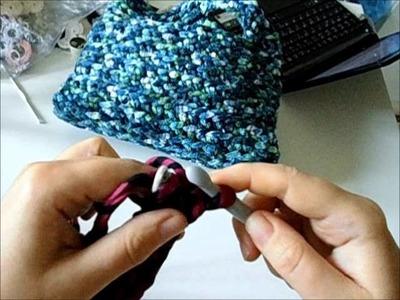 Tutorial a uncinetto: come realizzare il fondo di una borsa