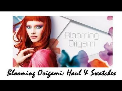 Blooming Origami KIKO - Haul & Swatches