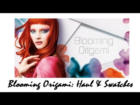 Blooming Origami KIKO - Haul & Swatches