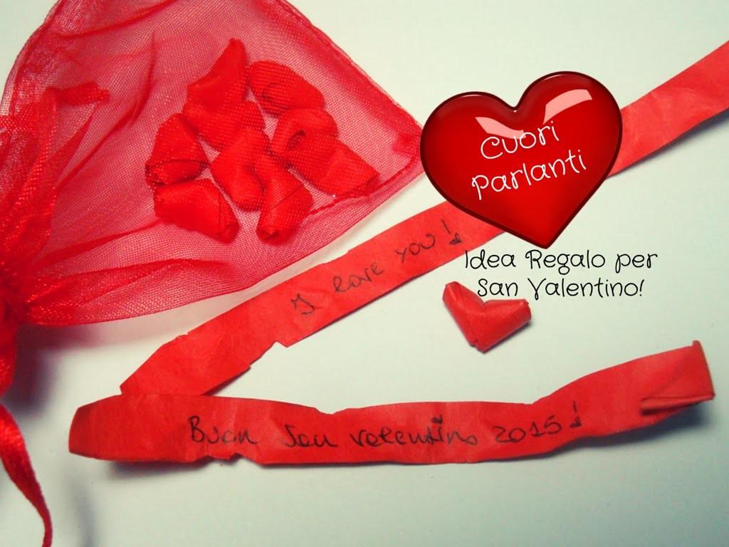Idea Regalo San Valentino ♥ Cuoricini Parlanti ♥ Origami Tutorial