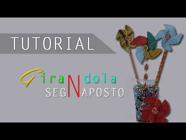 Tutorial Crochet: Bomboniera.Segnaposto Girandola ad Uncinetto 3.3