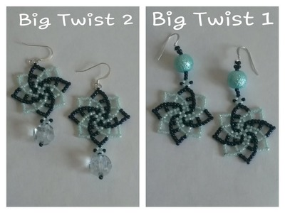 TUTORIAL Orecchini Big Twist