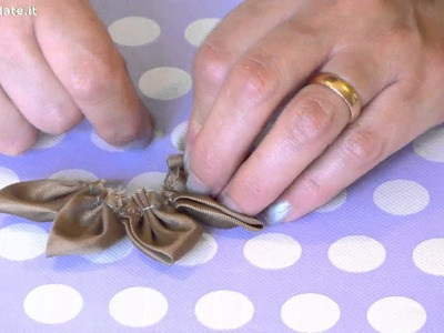 Come fare fiori di stoffa parte 2
