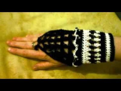 MD-LdG - Guanti s.dita elegante 2012 (uncinetto) - elegante figerl. Handschuhe (gehaekelt)