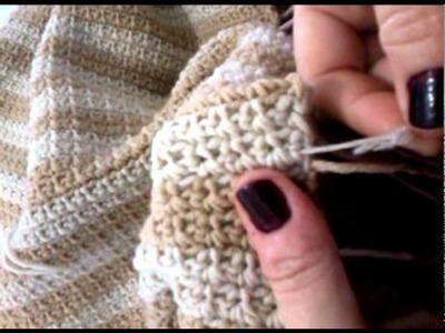 Uncinetto tips & tricks - Come affrancare il filo (nascondere i fili!)