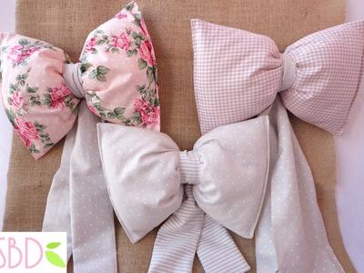Fiocchi di stoffa per nascita - Birth Fabric Bows