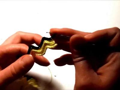 Tutorial bracciale uncinetto - seconda parte -