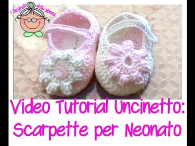 Tutorial Uncinetto: come si fa la suola delle scarpine per neonati (PER PRINCIPIANTI)
