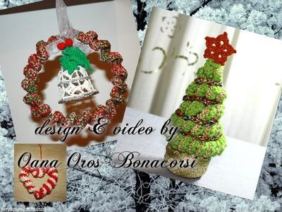Alberello e coroncina Natale
