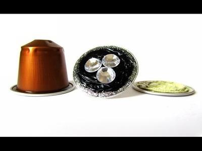 Come fare un anello con le capsule di caffè espresso