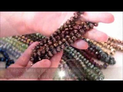 HobbyShow 2011 - Fantasycraft - CRISTALLI BRIOLETTE - perline bigiotteria