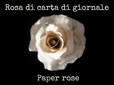 Rose di carta  (Fai da Te) - Arte per Te -