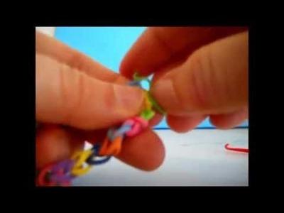 Tutorial. bracciali con gli elastici, semplici