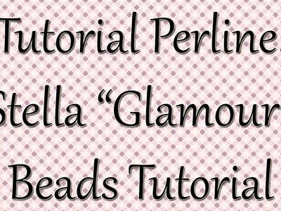 Tutorial perline: STELLA ROSA glamour. TUTORIAL PRINCIPIANTI