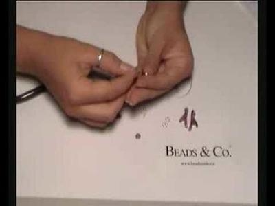 Creare orecchini in argento e corallo ametista - lezione 10 - Beads&Co