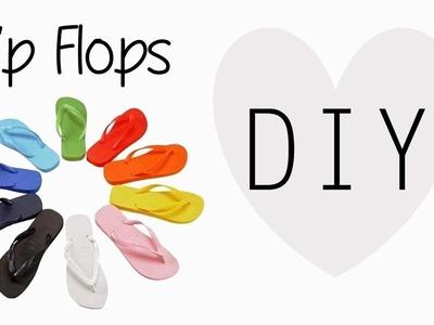 D.I.Y.  Flip Flops - Come modificare delle INFRADITO