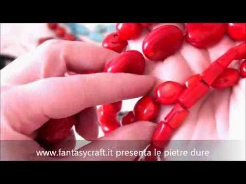 Fantasycraft - pietre e corallo - perline, bigiotteria