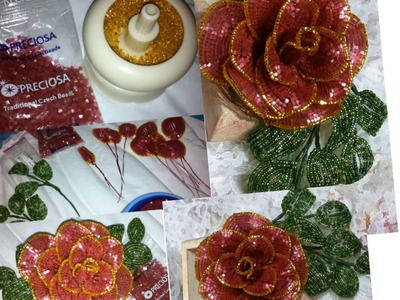 Fiori di perline - La rosa - Beaded Roses
