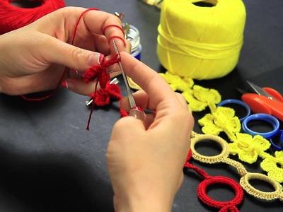 Porta ciuccio Neonati ad uncinetto, idea creativa con riciclo - Prima Parte - Casa della Fantasia