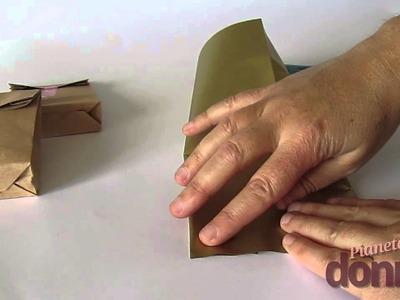Sacchetti di carta: ecco come realizzarli in casa