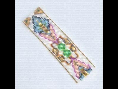 Sarubbest - Bracciale a fascia con perline (Peyote) & programma per creare schemi BeadTool