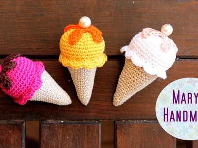 Tutorial: cono gelato amigurumi