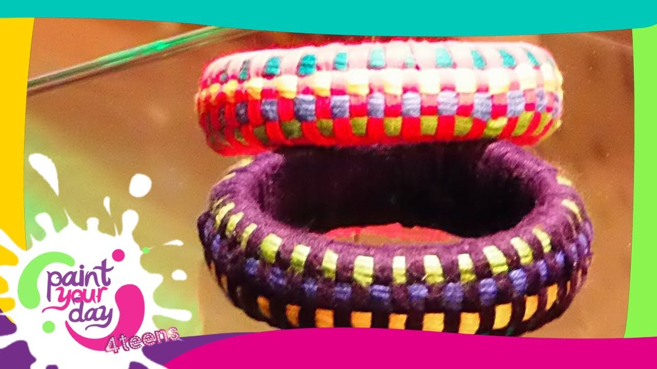 Come fare un bracciale multicolor: Paint Your Day 4 Teens - Frisbee