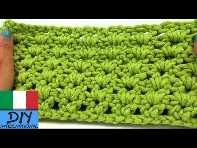 Come realizzare sciarpa all´uncinetto - sciarpa all´uncinetto fai-da-te - loop Tutorial in Italiano