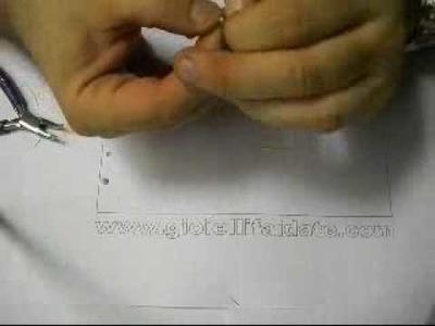 Creare orecchini con swarovski lezione 1