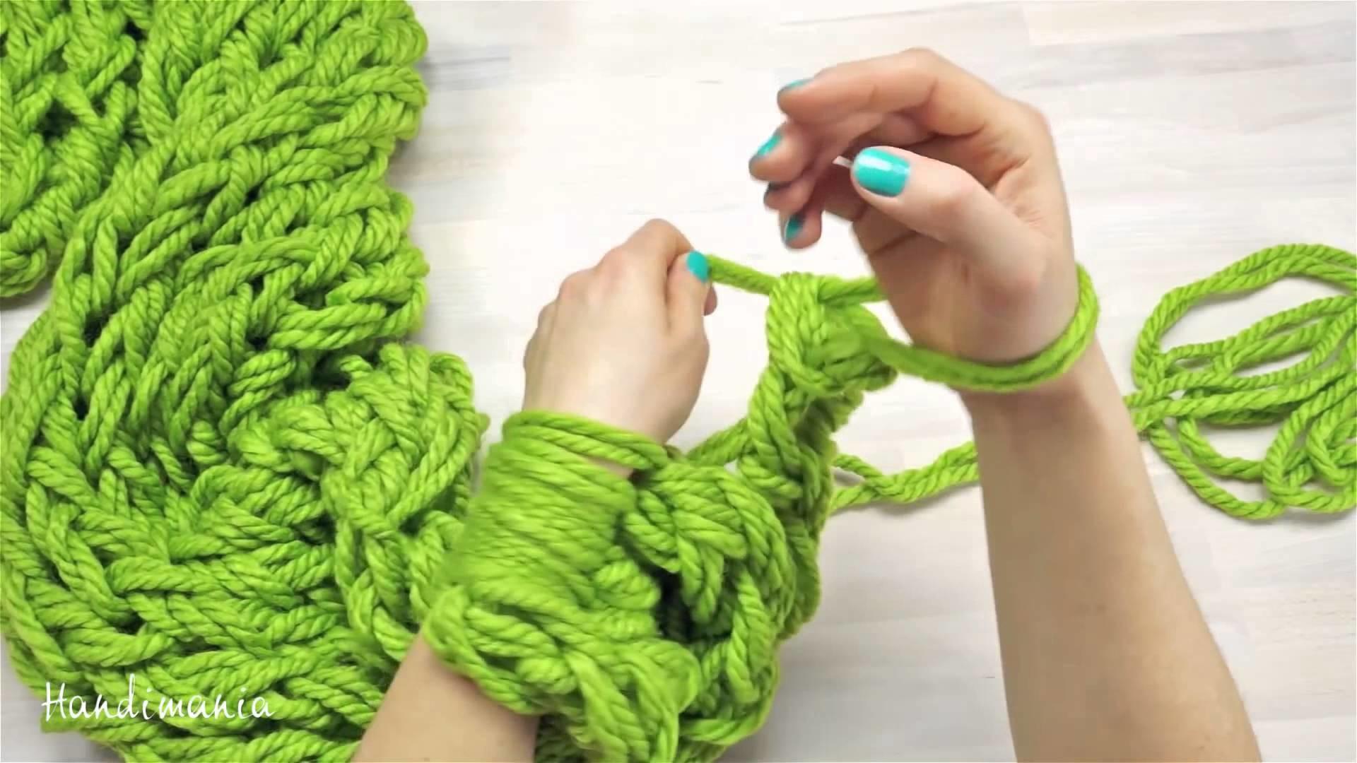 Вяжем своими руками спицами шарф