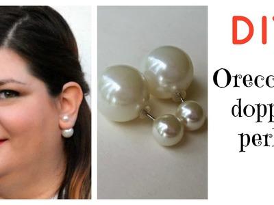 DIY - Orecchini Doppia perla
