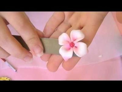 Fimo Tutorial: Fiore particolare (video collaborazione)