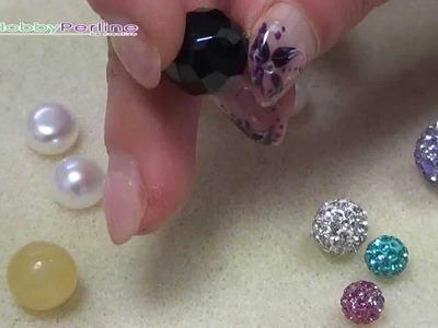Linea Mezzo Foro e tante altre idee per creare orecchini bottoncino | Video Wiki - HobbyPerline.com