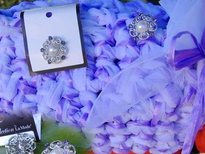 Per le chiusure di borse uncinetto e bijoux fettuccia fai da te, accessori