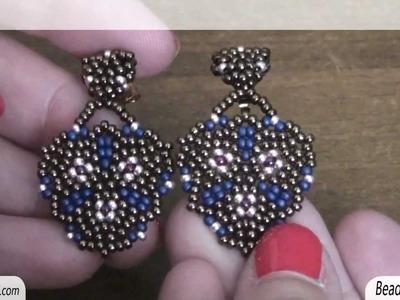Sarubbest - Orecchini con perline: orecchini con perline rocailles 11.0 | Nuove creazioni