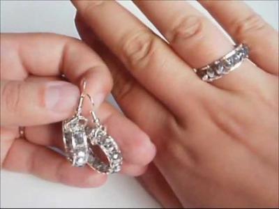 Tutorial orecchini. anello ispirati al Chan Luu