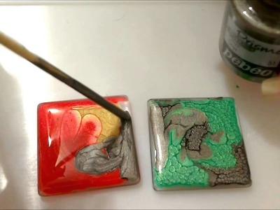 Tutorial pebeo prisme fantasy per ciondoli bijoux