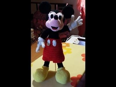 Tutorial Topolino Micky Mouse all'uncinetto parte II - Tutorial Micky Mouse Amigurumi