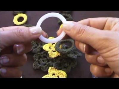 Tutorial uncinetto - Come rivestire un anello