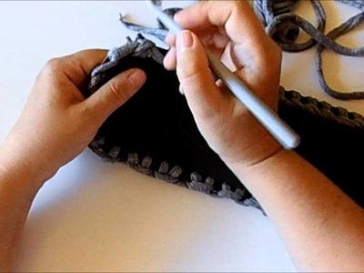 Uncinetto tutorial come realizzare il fondo di una borsa
