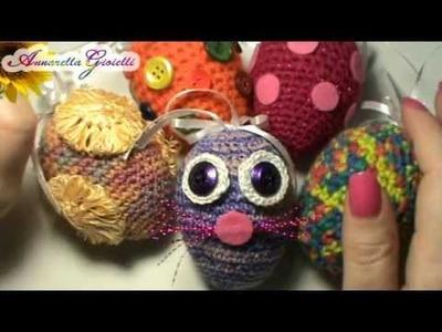 Uova di Pasqua all'uncinetto - I miei auguri per voi!!! ^_^
