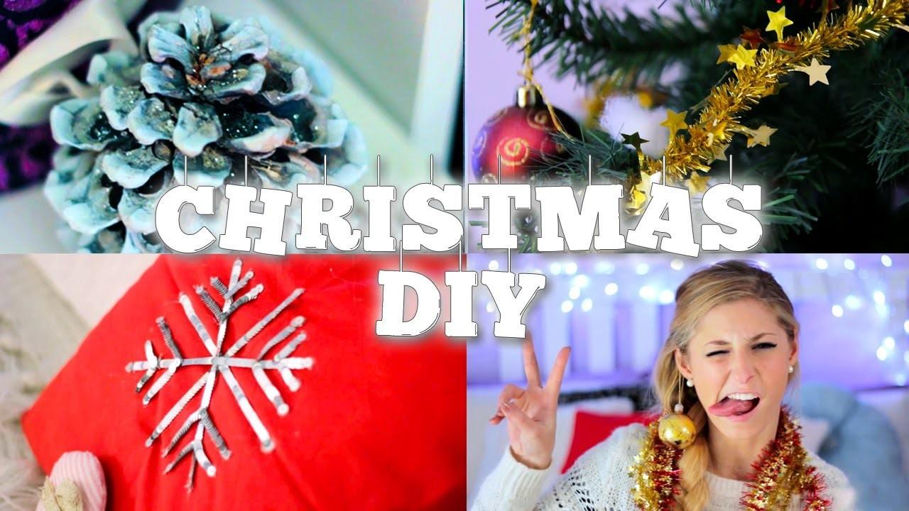 4 DIY Christmas & Room Inspiration