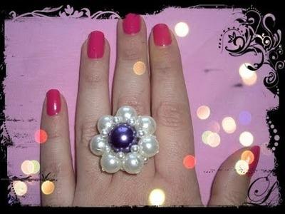 Come realizzare un anello con le perle