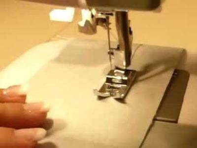 Cucire a macchina - punto dritto