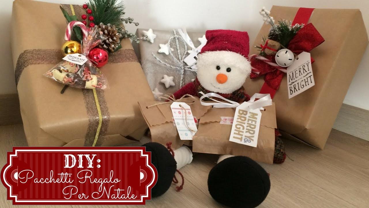 DIY: ❄ Pacchetti Regalo Per Natale - Gift Wrap ❄  ( Collab. Federica Effe)