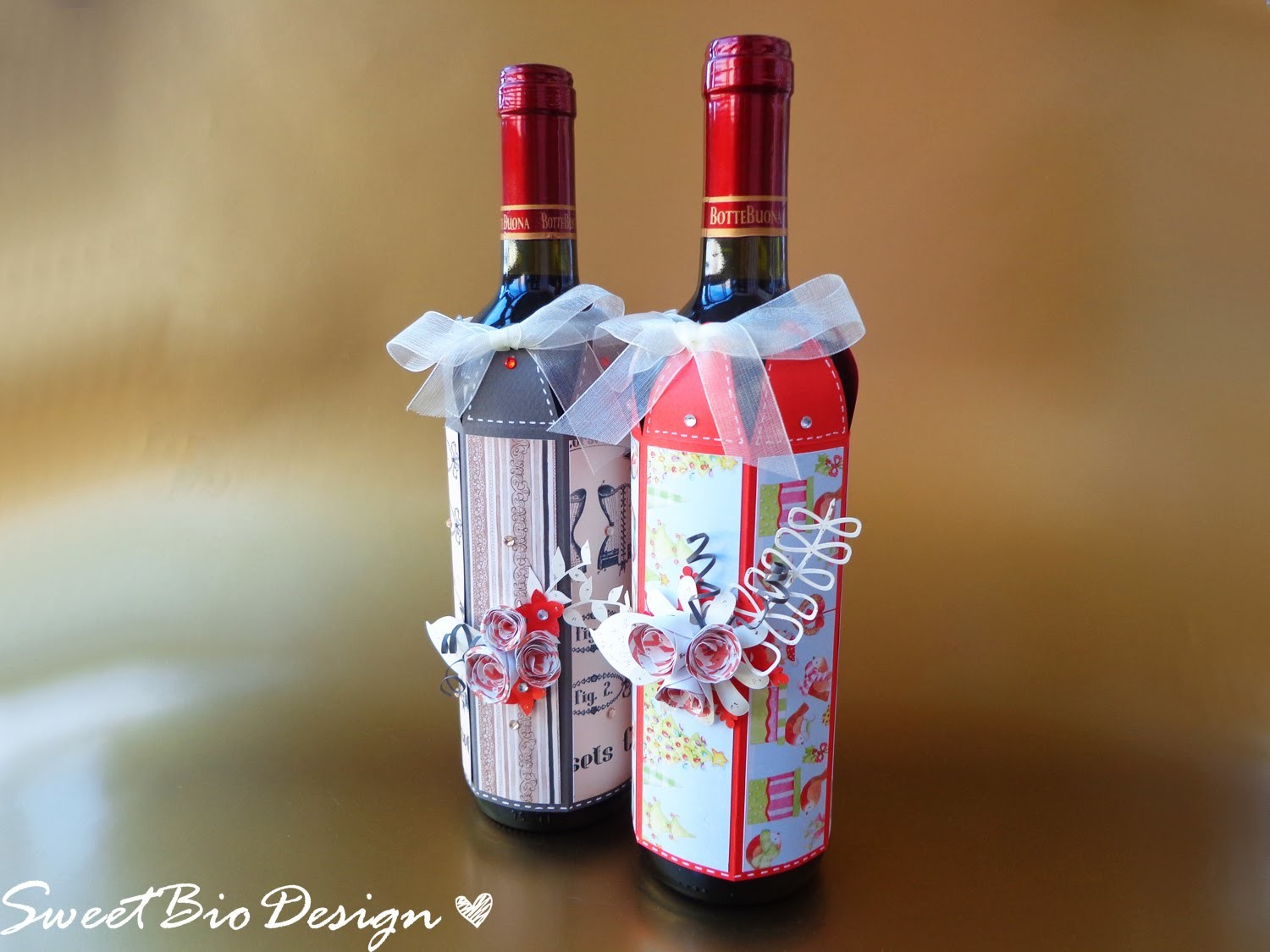 IDEA REGALO: Cover per bottiglie - Gift Idea: Bottle Cover