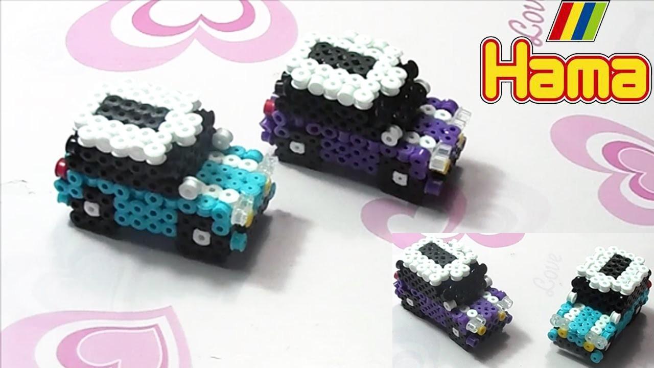 ✧Macchina con Hama Beads.Perler Beads Car Tutorial ✧