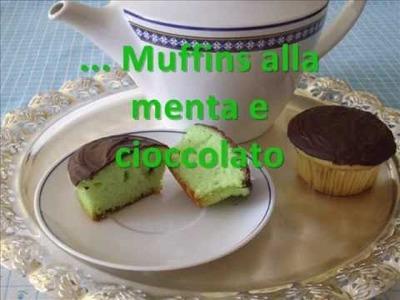 MUFFINS ALLA MENTA E CIOCCOLATO